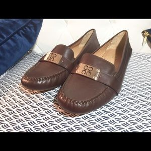 RARE Coach Brown Leather Loafers or Flats